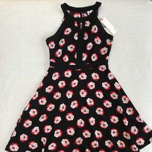Elle Floral Poppy Dress